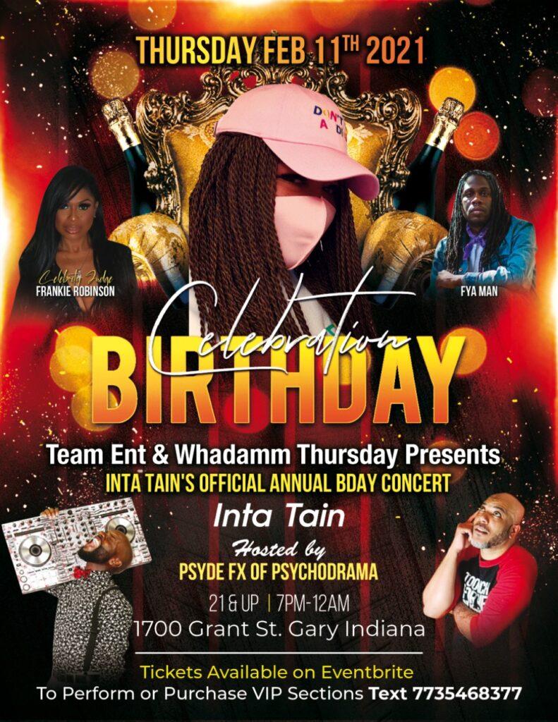Inta Tain Birthday Celebration