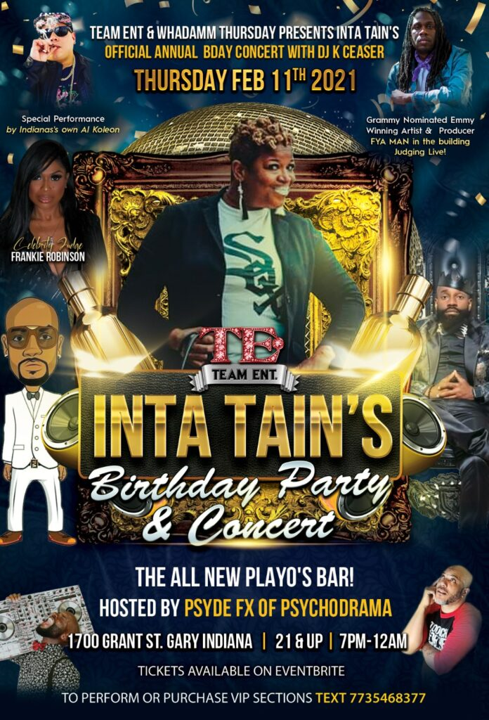 Inta Tain's Birthday Party & Concert