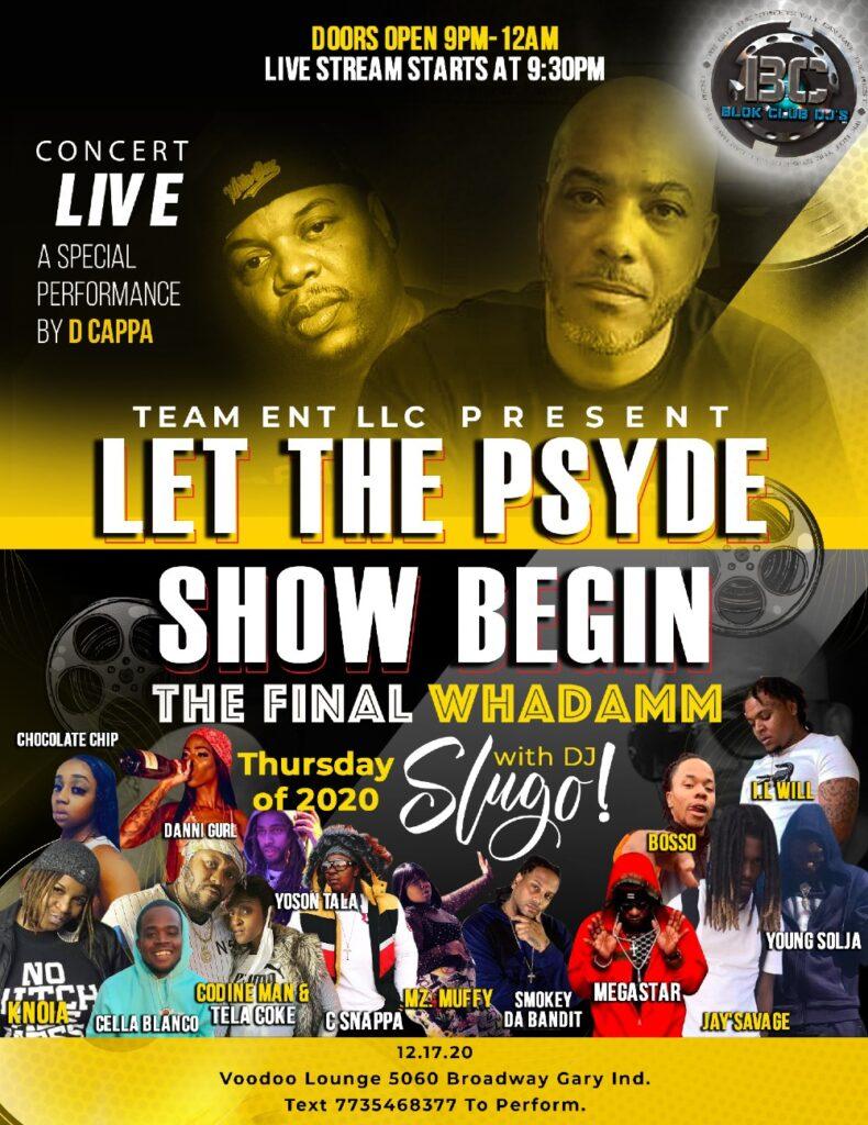 Let The Psyde Show Begin